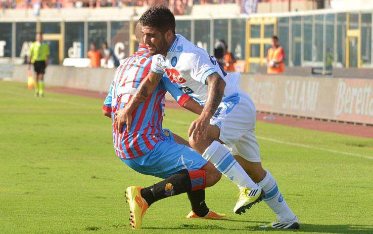 Immagine del match Catania - Napoli