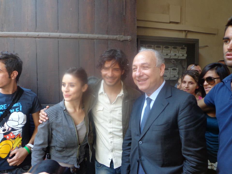 Squadra Antimafia 5 col sindaco di Catania