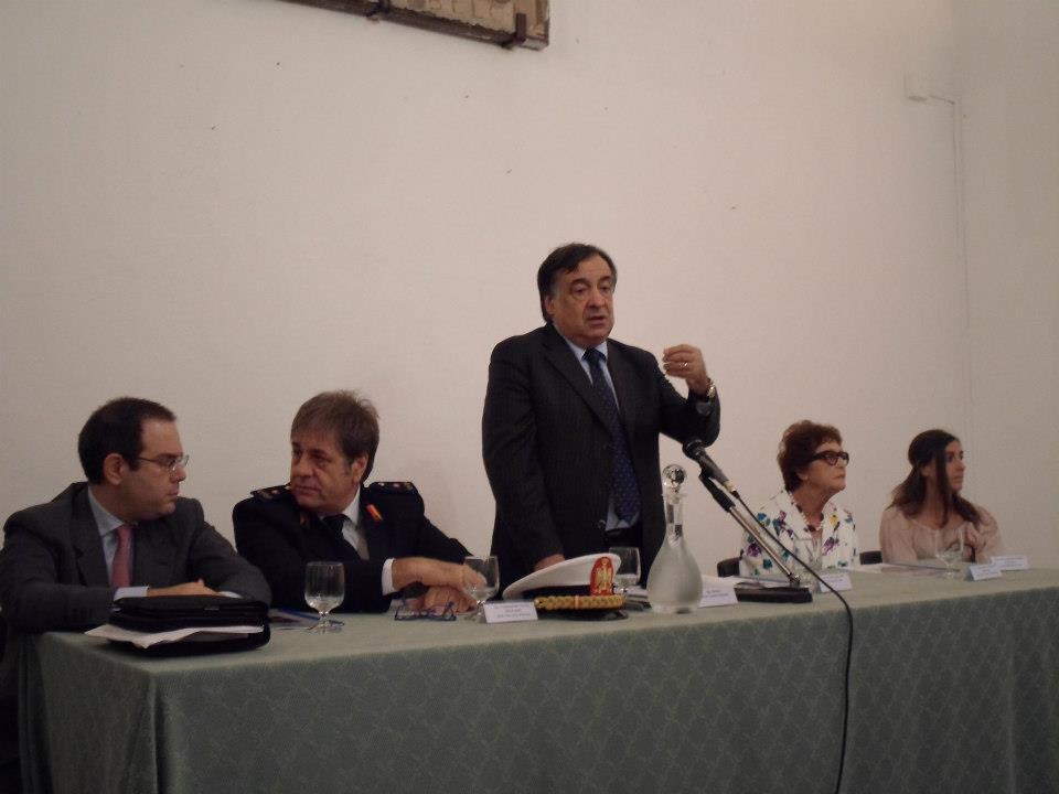 Con Leoluca Orlando, sindaco di Palermo