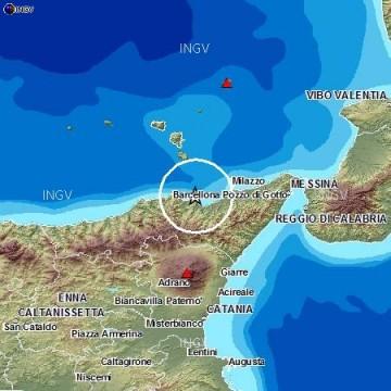 Terremoto, scossa di magnitudo 3 nel messinese$