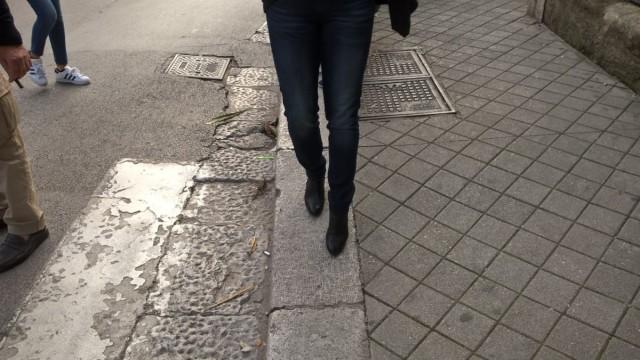 marciapiede sistemato