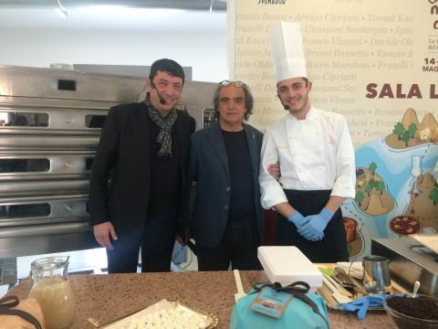 Gourmandi - Davide Paolini fra i pasticceri Nicola e Mario Fiasconaro