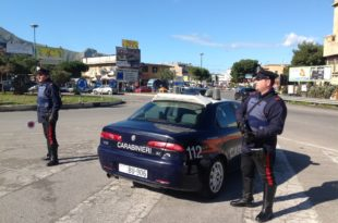 Posto di blocco- Carabinieri - Villafrati