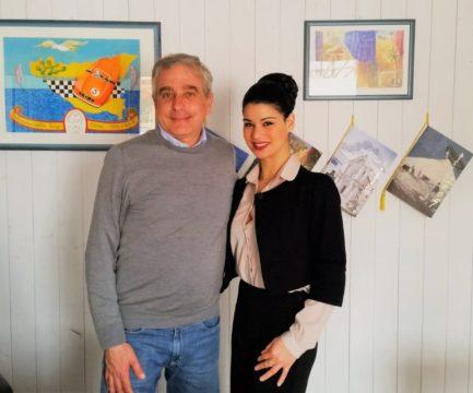 Avv. Francesca Paola Quartararo insieme il Dott. Goffredo Avara