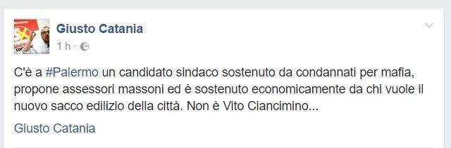 giusto catania- facebook -mafia-massoneria - burattini