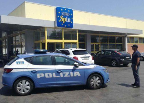 Polizia di Stato - VOLANTE - EUROSPIN 1 - Rapina e aresti