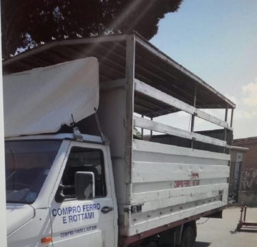 Palermo- Polizia munipale - rifiuti ingombranti
