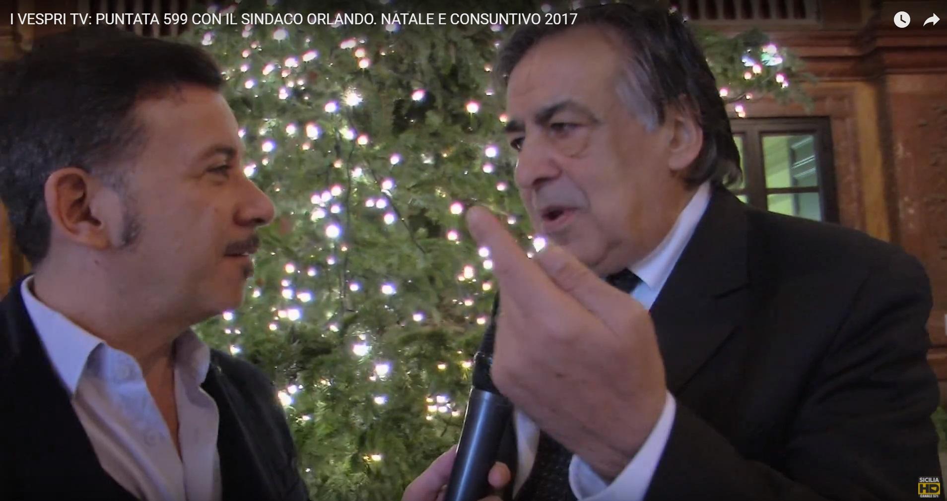 Siciliahd: Panasci - Leoluca Orlando - consuntivo e Buon Natale