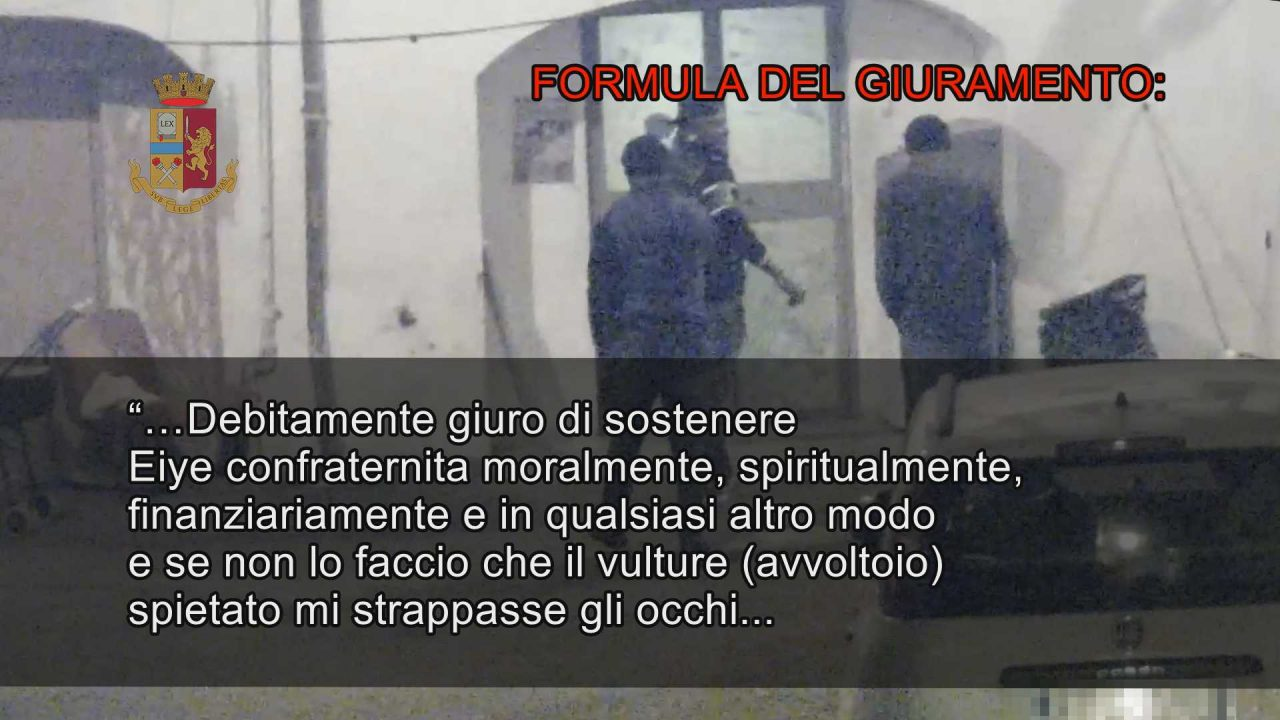Palermo - Mafia nigeriana - un altro fermato