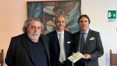 Mario Attinasi, Prof. Angelo Cuva, Tesoriere Uncat Avv. Alessandro Paino