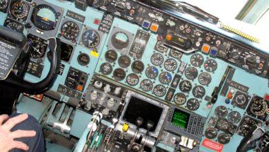 Strage di Ustica - Cabina di pilotaggio