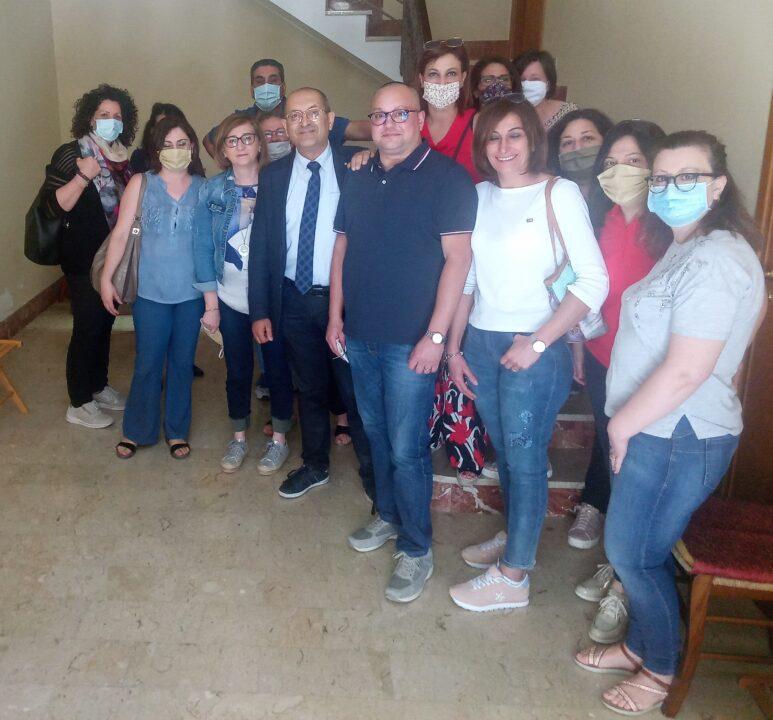 Sinalp Sicilia incontra lavoratori ASU di Sambuca di Sicilia