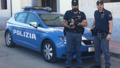 poliziotti con cucciolo - rumeno