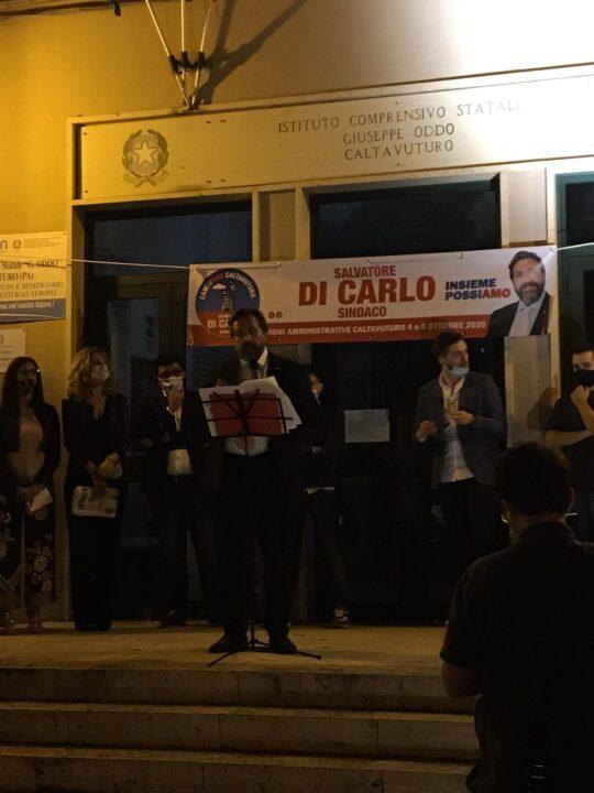 salvo di carlo - candidato a sindaco calvaturo 4