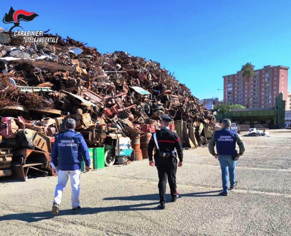 Carabinieri - NOE - traffico rifiuti