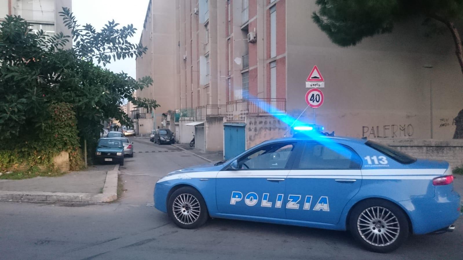 polizia - spacciatore- sperone