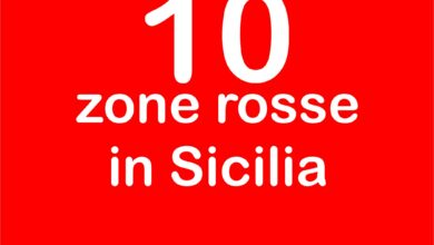 10 zone rosse in sicilia