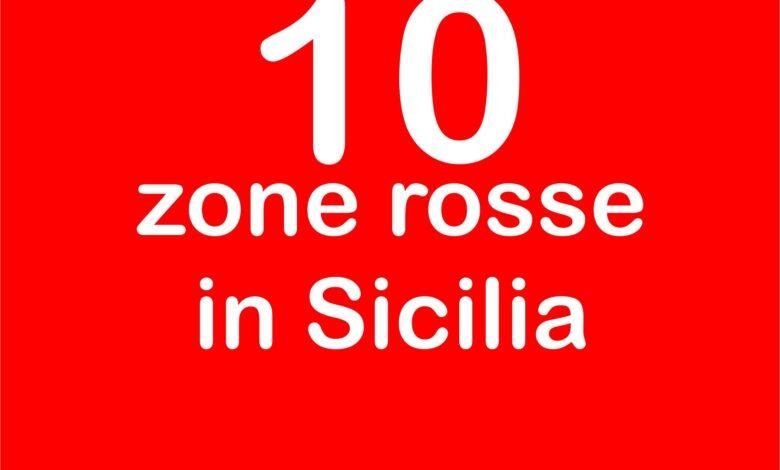 10 zone rosse in sicilia