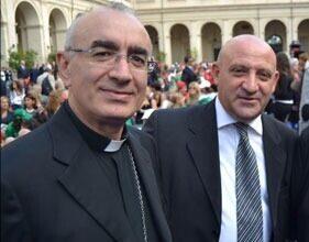 Vescovo della Diocesi di Noto Antonio Stagliano - Salvatore Sardisco