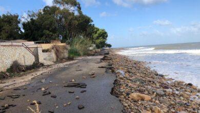 contrada Marina - Caronia - erosione costiera