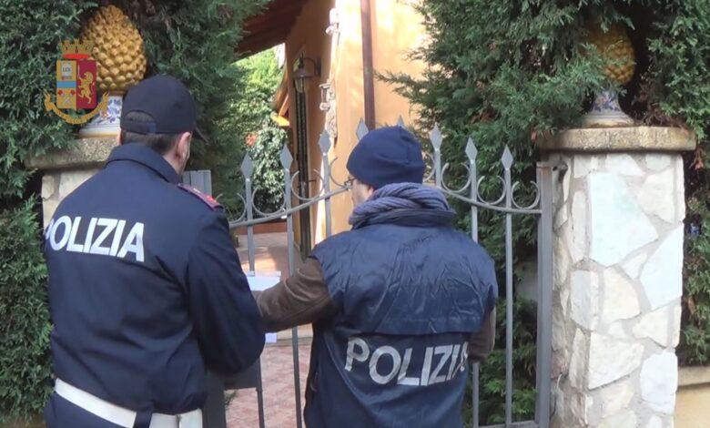 villa posta sotto sequestro