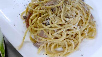 carbonara siciliana