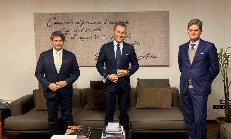 da sx Felice Catapano, Pasqualino Monti, Pasquale Ionta