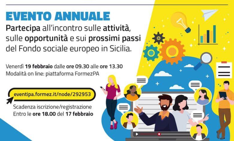 fondo sociale europeo sicilia evento annuale