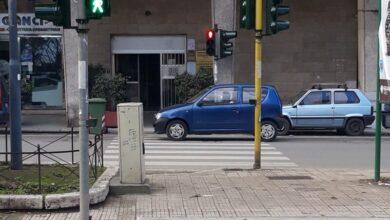 Palermo Semaforo Via Crispi altezza via Stabile