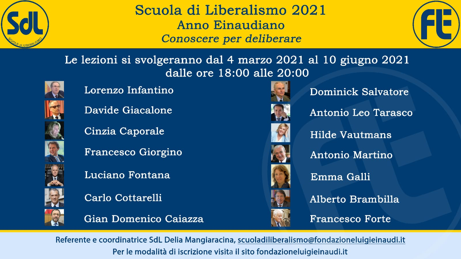 scuola di liberalismo Einaudi