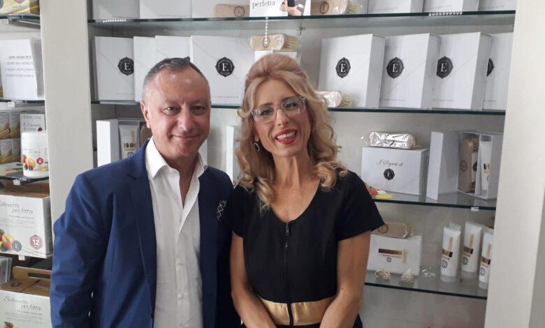 Filippo Virzì e Ester Canale