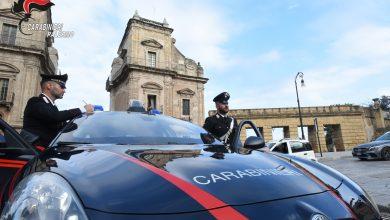 Carabinieri ladro malvivente Palermo